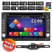 6.2-inch Double DIN Gps Navigation for Universal Car Free
