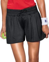 Champion Double Dry® Fem Pleated Women's Athletic Shorts, S