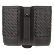 Double Mag Pouch, Double Stack Mags, CF Finish, Black -