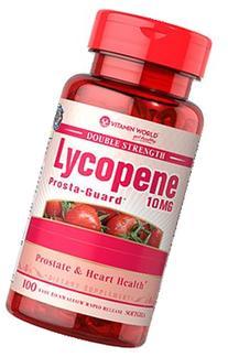 Vitamin World Double Strength Lycopene 10mg, Prosta-Guard,