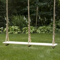 Double Child Tree Swing  - Natural
