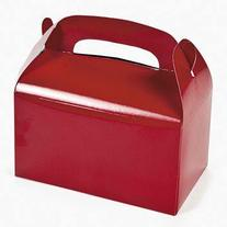 Dozen Red Treat Boxes