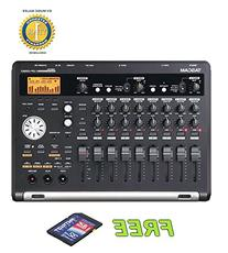 Tascam DP-03SD Digital Portastudio 8-Track Recorder with a