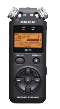 Tascam Portable Studio Recorder Black 7.5 x 2.4 x 1.2 inches