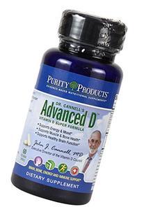 Dr. Cannell's Advanced D - Vitamin D Super Formula - 60