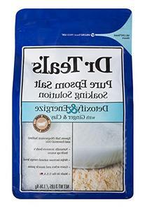 Dr Teals Pure Epsom Salt Soaking Solution, Detoxify &