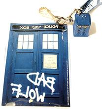 Underground Toys Doctor Who Lanyard/Bad Wolf with Tardis 3D