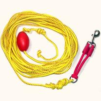 Outdoor Drag Line / Long Leash for Dogs with Bungee, 33