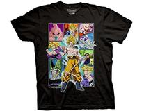Ripple Junction Dragon Ball Z Character Frame Collage Adult