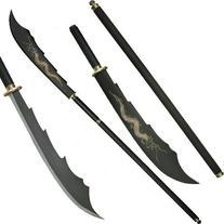 Dragon Naginata Huge Staff W/ Blade