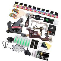 Dragonhawk Complete Tattoo Kit 2 Pro Machines Rotary Gun