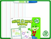 LeapFrog 9 x 12 Inches Draw and Write Double-Sided Dry Erase