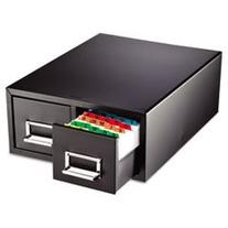 * Drawer Card Cabinet Holds 3,000 4 x 6 cards, 14 1/2 x 16 x
