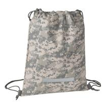 Drawstring Backpack in Digital Camouflage Army Military Sack