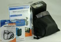 Large Drawstring Deluxe Flash Pouch  For Canon , Nikon ,