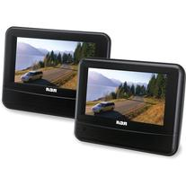 "RCA DRC69705 7"" Dual Screen Mobile DVD System"