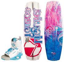 Liquid Force Girl's Dream Wakeboard w/ Dream Bindings '14