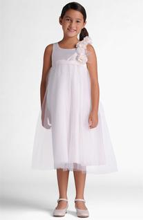 Girl's Us Angels Dress, Size 14 - White