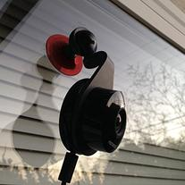 Dropcam Pro Universal Mount Offers Magnetic and Suction Cup