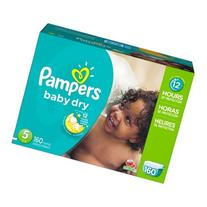 Pampers Baby Dry Diapers Economy Plus Pack, Size 5, 156
