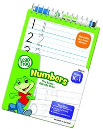 LeapFrog Numbers Dry Erase Activity Book for Grades K-1 with