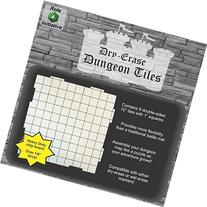Dry Erase 10 inch Dungeon Tiles - Pack of 9