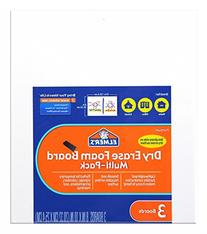 Elmer's Dry Erase Foam Boards, 8 x 10 Inches, White, 3-Count