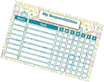 Dry Erase Magnetic Responsibility / Reward Chart - Magnet