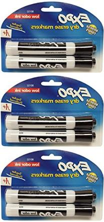 Expo Dry Erase Markers Low Odor Ink, Intense Colors, Chisel