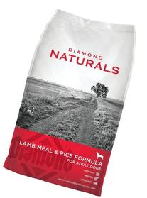 Diamond Naturals Dry Food for Adult Dogs, Lamb and Rice