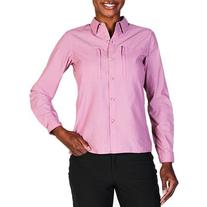 ExOfficio Dryflylite Long Sleeve Shirt - Women's Fondant