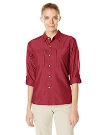 ExOfficio Women's Dryflylite Long Sleeve Shirt, Mod, X-Small