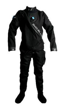 Body Glove mens Drysuit W/ Nylon Bag, Large