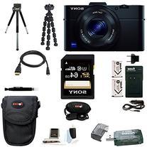 Sony DSC-RX100M II Cyber-shot Digital Camera with 64GB