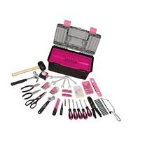 Apollo DT7102 P Pink 170 Piece Household Tool Kit with Tool