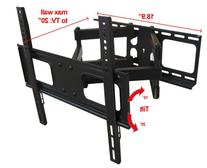 Impact Mounts Dual Arm Articulating Full Motion Lcd Led