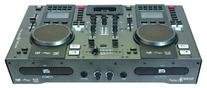 Dual CD Player-Mixer, With iPod Dock And Midi