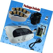 Dual Foot Detox Machine Ion Foot Bath Spa Cell Cleanse with Far Infrared Belts