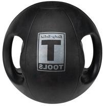 Body Solid Tools BSTDMB10 10-Pound Dual Grip Medicine Ball