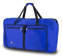 "Suvelle Travel Duffel Bag 29"" Foldable Lightweight Duffle"