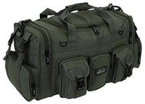 "NPUSA Mens Large 22"" Duffel Duffle Military OD Green Molle"