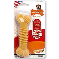 Nylabone Dura Chew Wolf Chicken Flavored Bone Dog Chew Toy