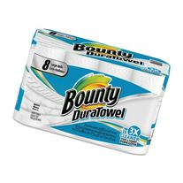 Bounty DuraTowel Paper Towels, 2-Ply, 9 x 11, 53/Roll -