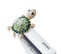 Dust Plug- Earphone Jack Accessories Crystal Lovely Green