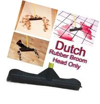 "Dutch Rubber Broom 12"" Head- 12 Inches Rubber Broom Head"