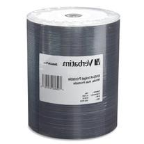 VERBATIM DVD-R 4.7GB WIJ 100PK