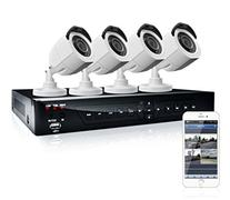 LaView 4 HD 720P Camera Security System, 4 Channel 720P HD-