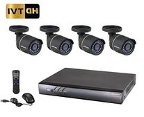 LaView 4 Channel 1080P / 720P HD DVR Surveillance System