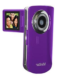Vivitar DVR620-GRP Ultimate Selfie Digital Camera 5.1 MP