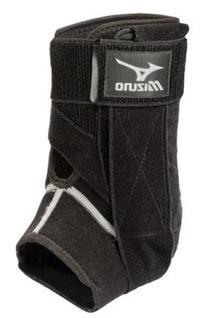 Mizuno DXS2 Right Ankle Brace, Black, Medium
